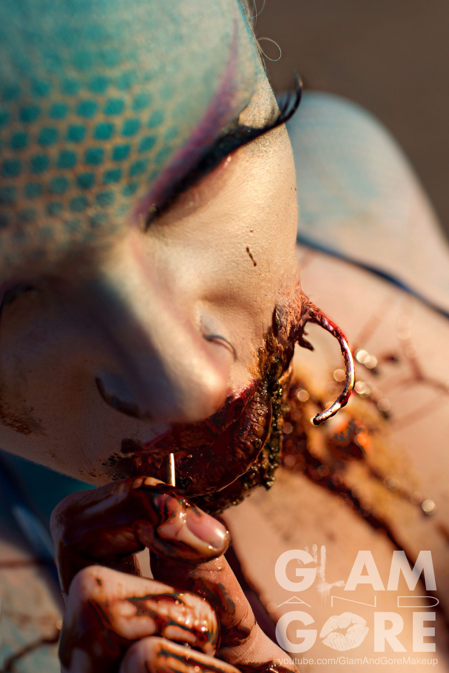 Special Effects Makeup: Caught Mermaid Special Effects Makeup For More Makeup