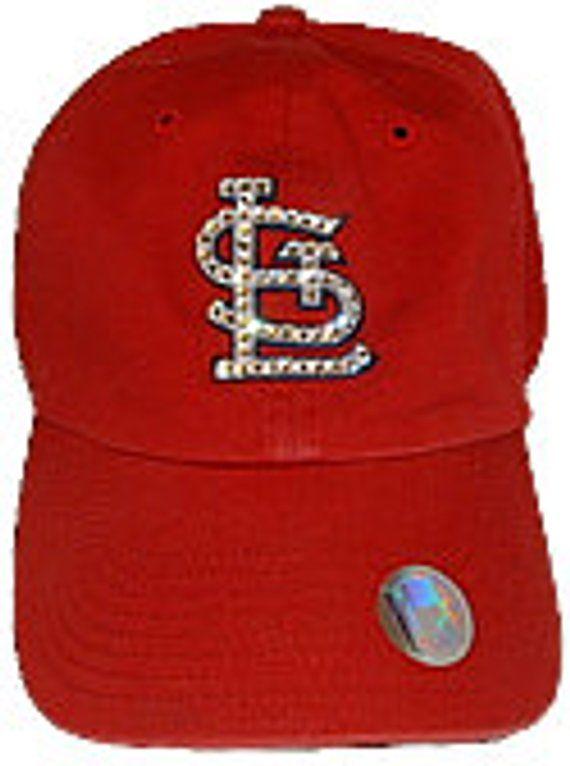 f149355b36a92 Swarovski Rhinestone St. Louis Cardinals Baseball Cap 47 Brand One Size  Fits All