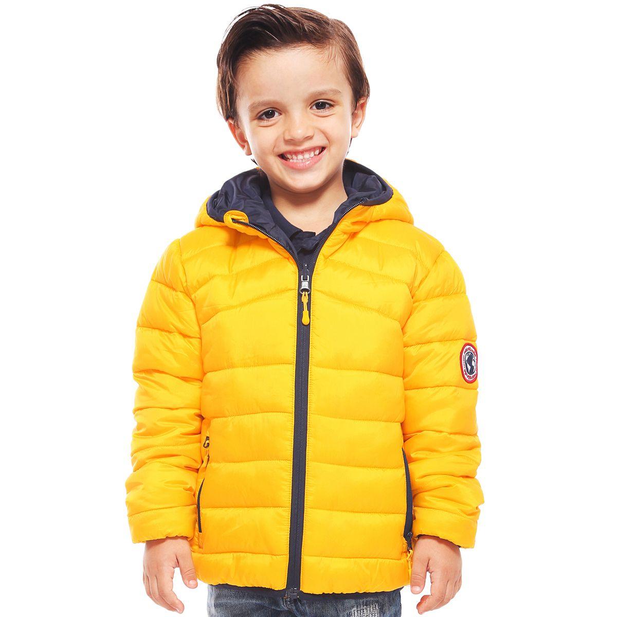Boys Lightweight Padded Puffer Jacket Spectra Yellow Puffer Jackets Puffer Jackets [ 1200 x 1200 Pixel ]