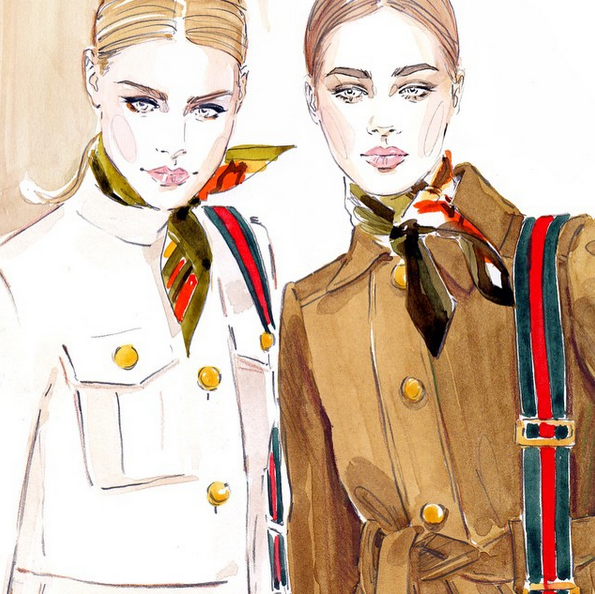 Photo of Updated: 12 Fashion Illustrators To Follow on Instagram