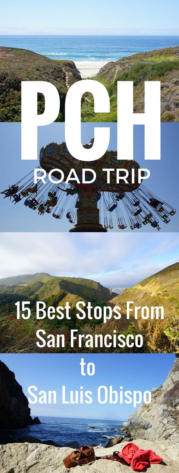 pacific coast highway road trip where to stop between san francisco rh pinterest com