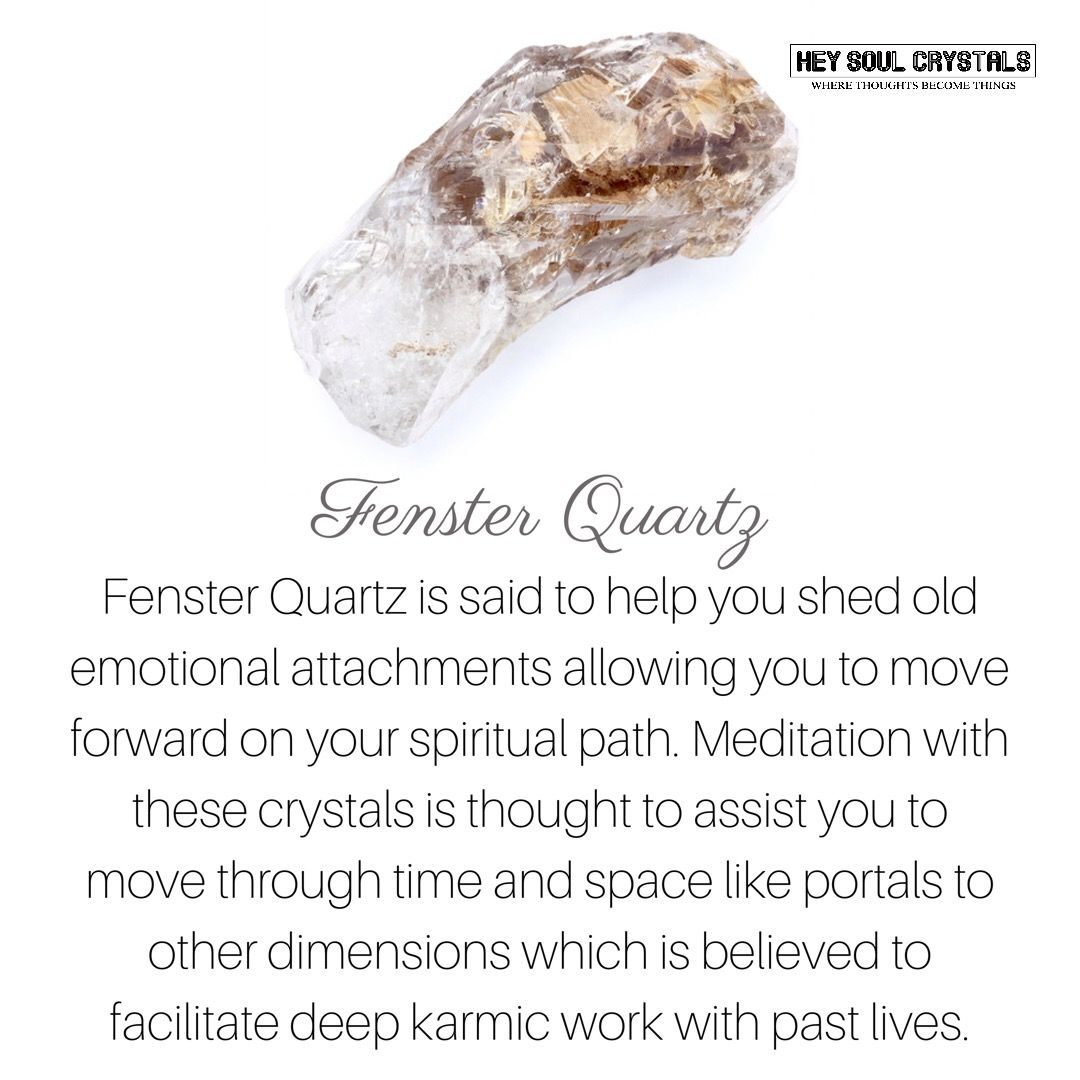 Fenster Quartz Crystal Meaning Crystalmeanings Crystal Meanings