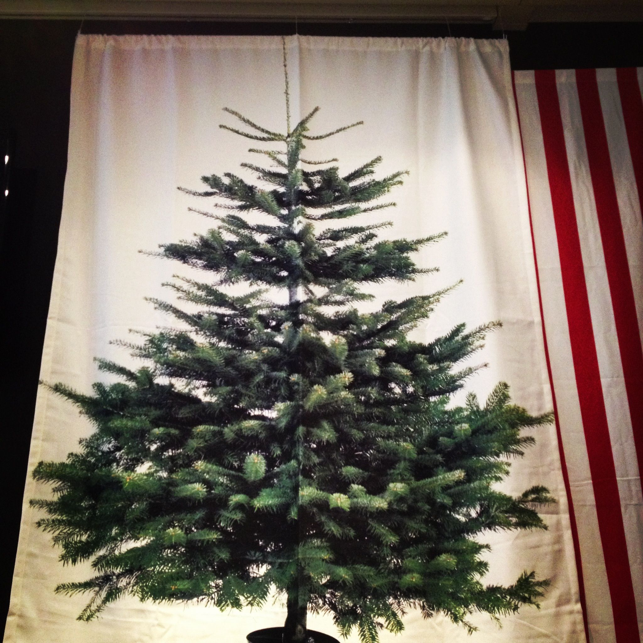 I Love This Christmas Tree Wall Hanging From Ikea