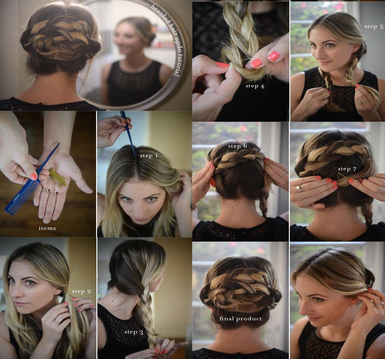 Cute Easy Hair Tutorials And Diy Hairstyles Hairstyle Ideas Diy Braid Tips For Your Hair This Spring Braid Hairstyles Step By Hair Tutorial Hair Hair Styles