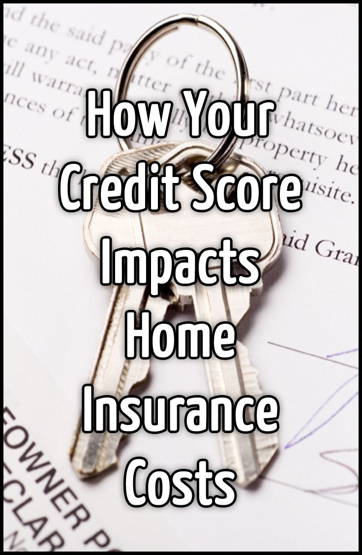 How your creditscore impacts homeinsurance costs