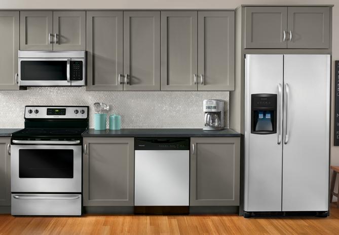 frigidaire 1 6 cu ft over the range microwave stainless steel rh pinterest com