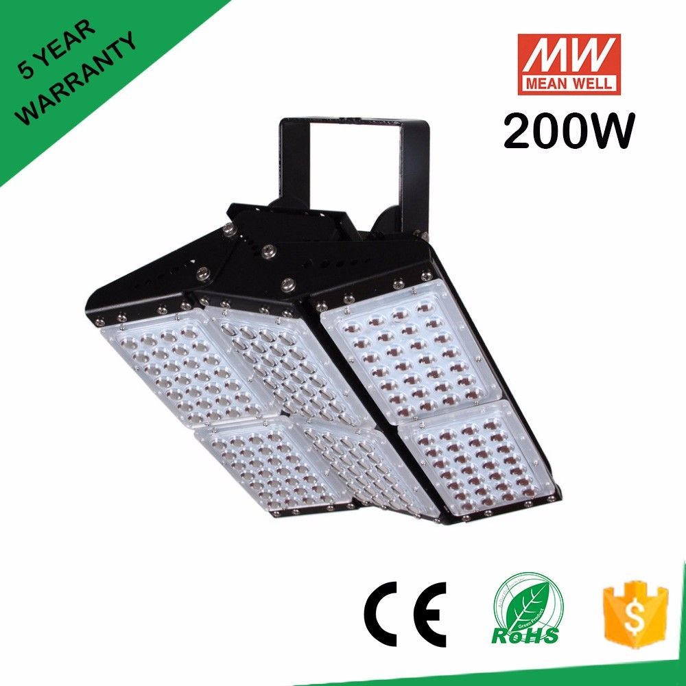 New Led Floodlight Cob 200w 300w 400w 500w Reflector Flood Lighting Spotlight Ac 85 265v Waterproof Outdoor Garge Cool Things To Buy Outdoor Lighting Wall Lamp
