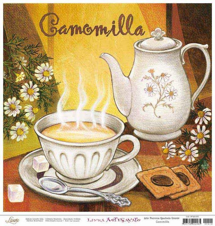 Borboleta Azul: Chá E Café