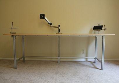 image result for 80 20 desk furniture desk furniture home decor rh pinterest com