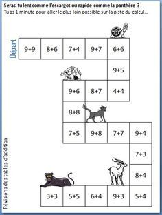 jeu des additions | Grade 1 ideas | Pinterest