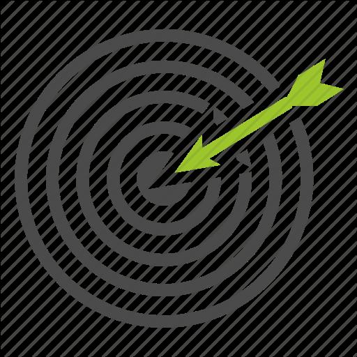 Aim Click Goal Marketing Optimization Seo Target Icon Download On Iconfinder Optimization Icon Marketing