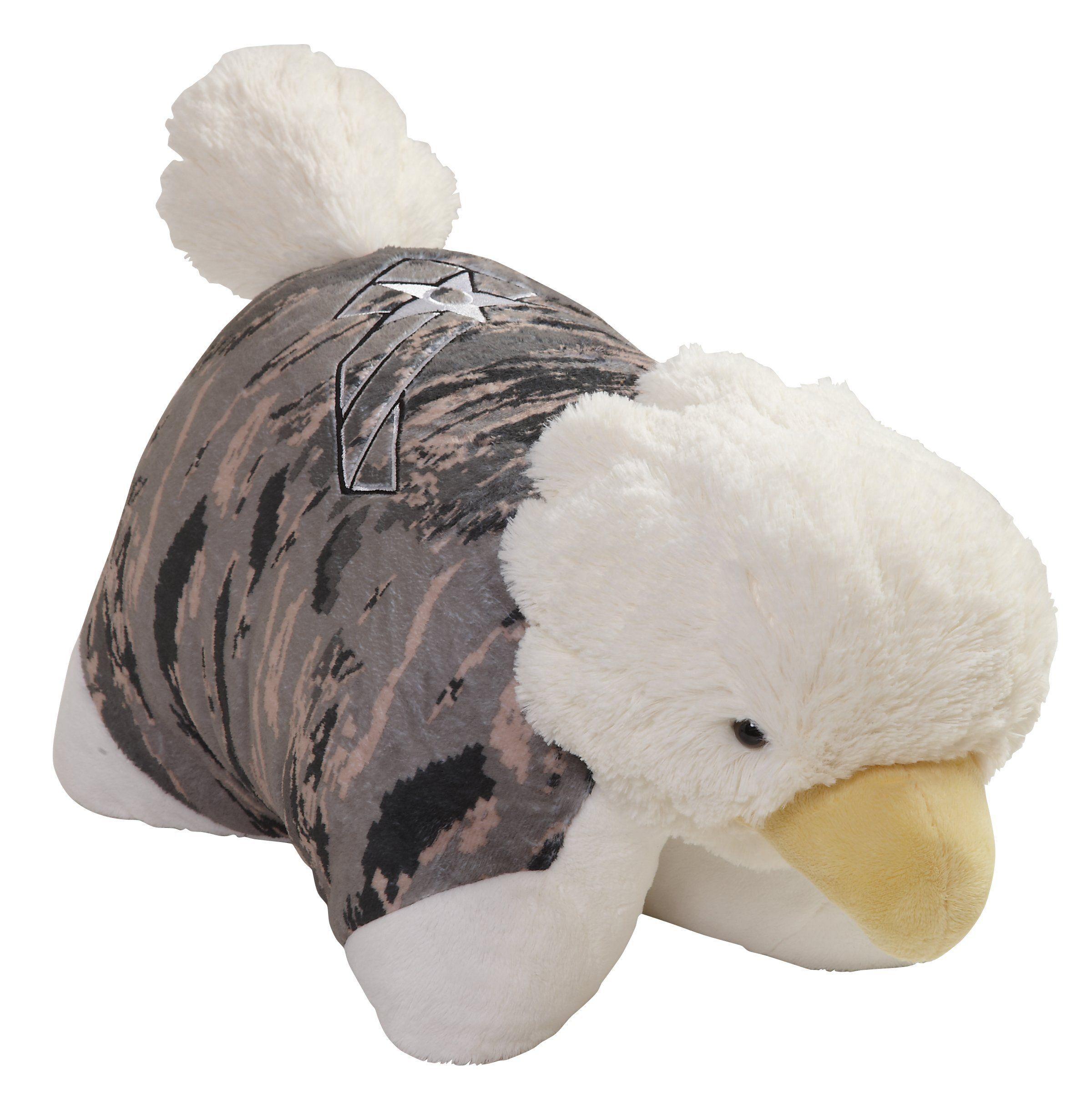 us air force camo folding plush pillow