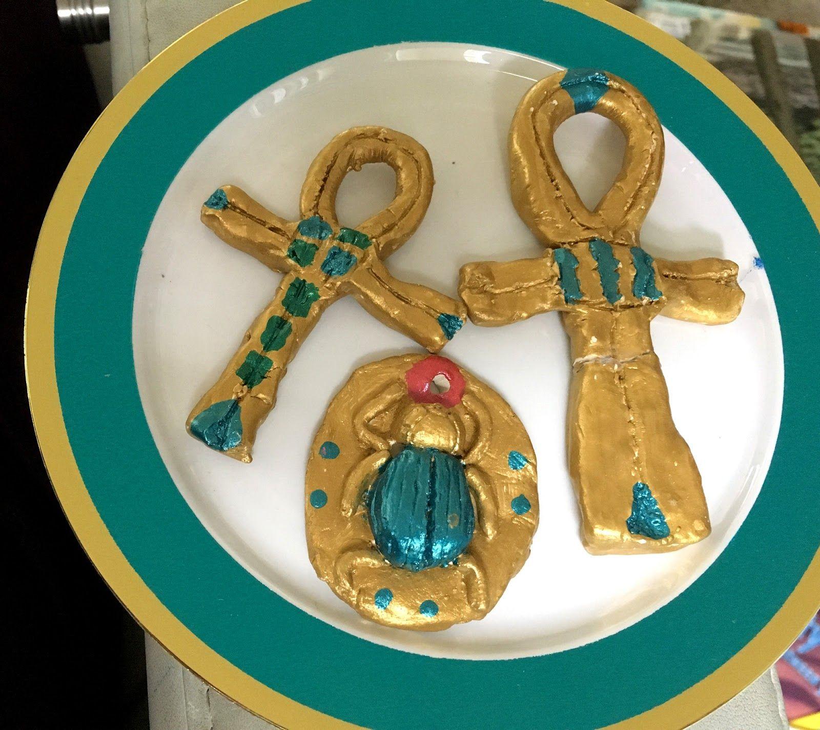 Making Egyptian Amulets