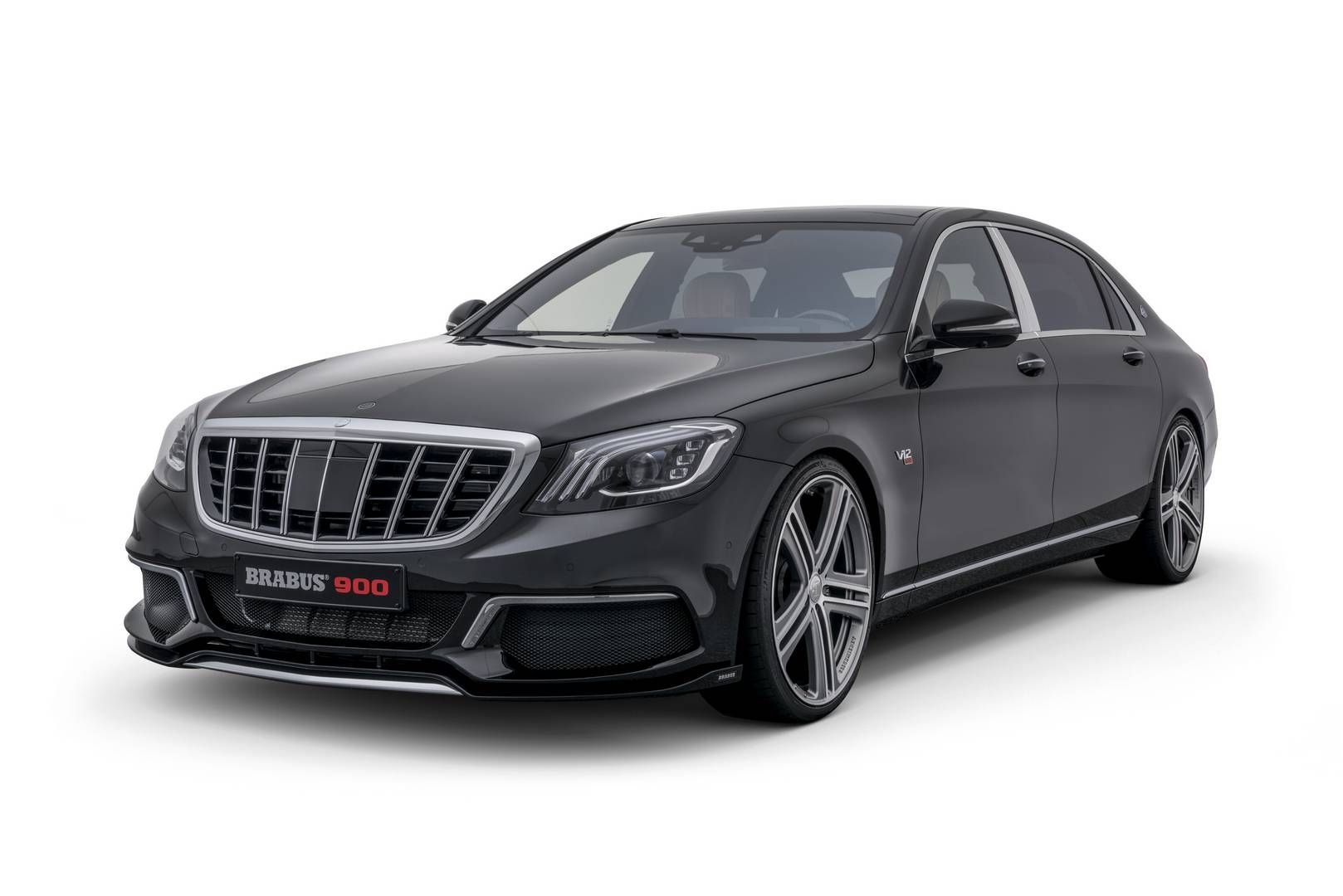 Official Brabus Rocket 900 Based On Mercedes Maybach S650 With