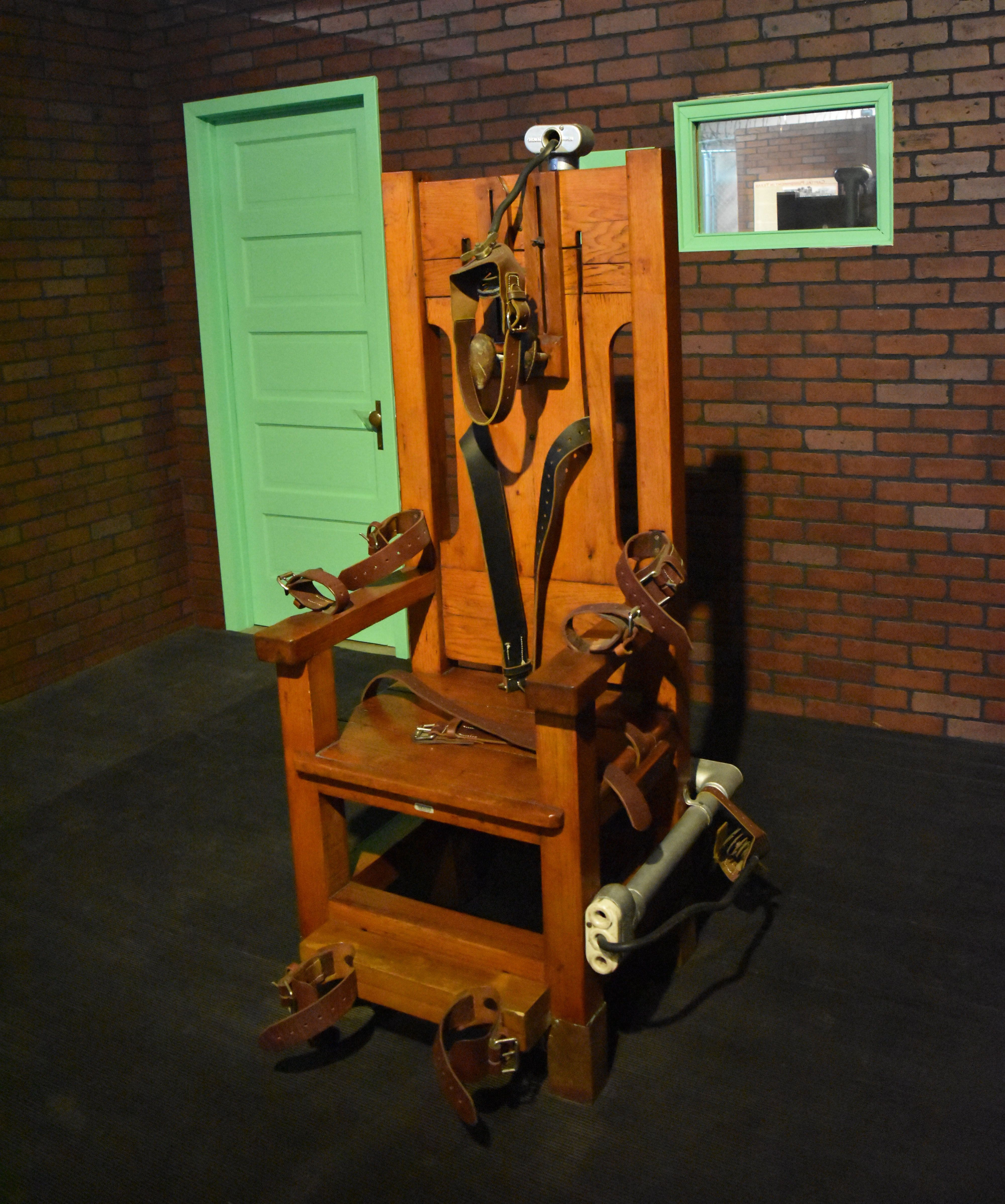 famous electric chair electrocutions pictures to pin on Women Executed Electric Chair deviantART Electric Chair Helmet deviantART