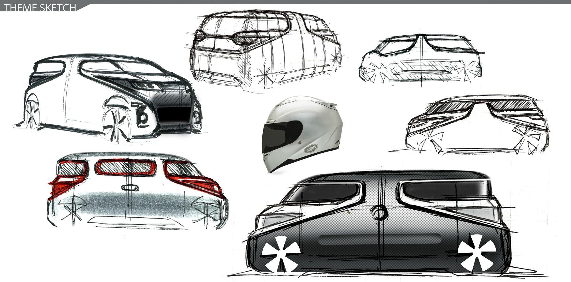 Design Development: Suzuki Air Triser   Car Design News