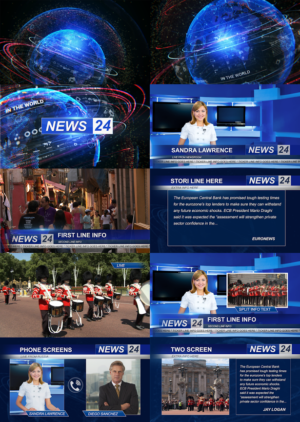 Pin by Bashooka Web & Graphic Design on Best After Effects Templates