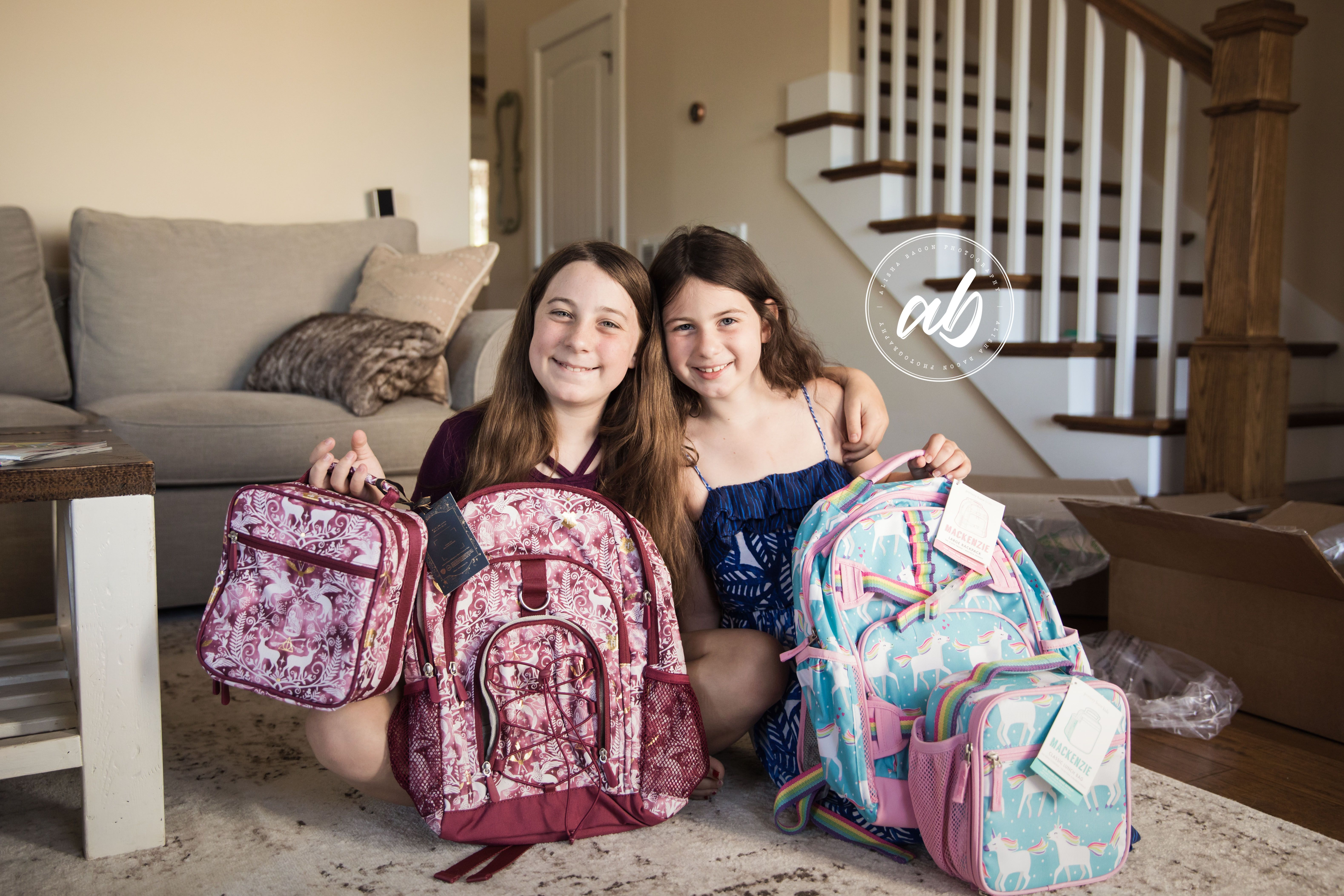 Day 210 New Backpacks Lila Had To Have Harry Potter