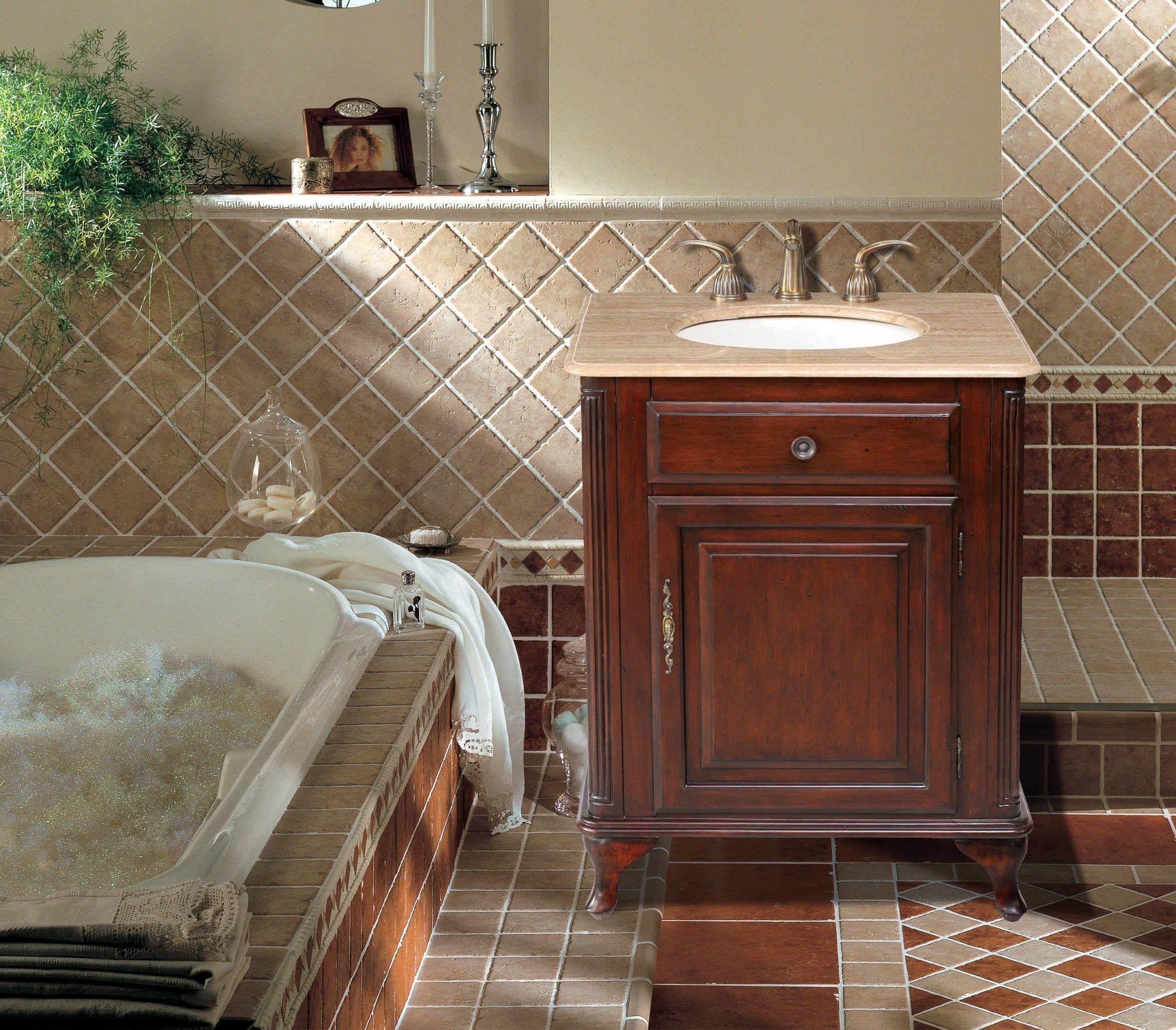 27 inch vanity | Traditional bathroom vanity, Marble ...