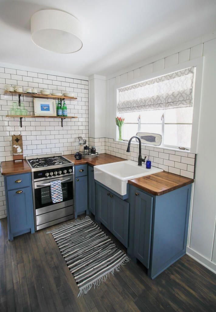 Check out how IKEA purchases can be strategically added to a cottage for a coastal feel. These are Cottage Style IKEA decor tips you won't want to miss! #smallkitchenideas #smallkitchendesign