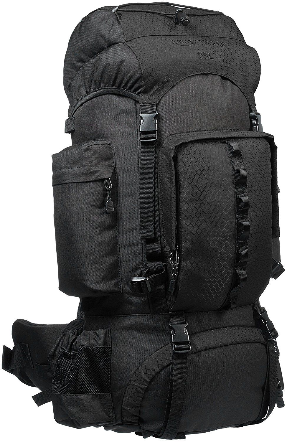b99deac655cb $54.99 AmazonBasics Internal Frame Hiking Backpack with Rainfly ...