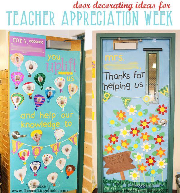 Decorate Your Teacher S Door Teacher Appreciation Week Teacher