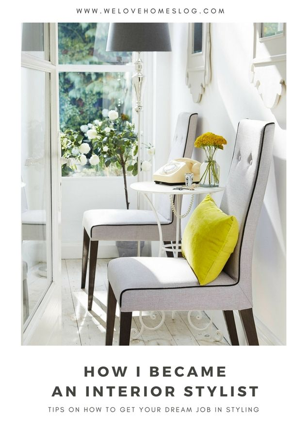 Your dream job: How to become an interior stylist