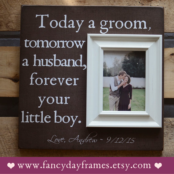 Mother Of The Groom Picture Frame Father Wedding Gift