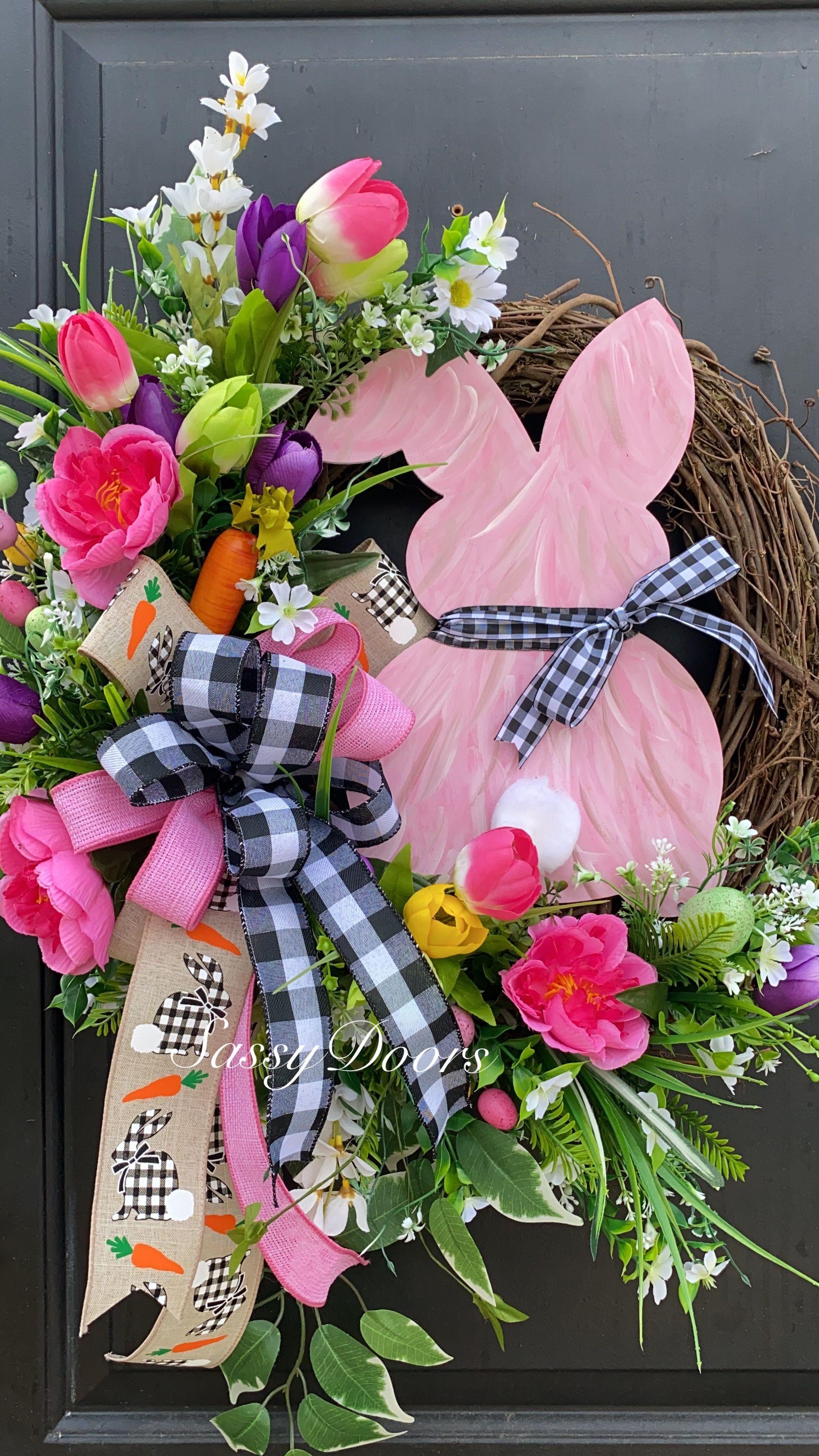 Easter Wreaths,  #Easter #grapevinewreathdiychristmas #Wreaths