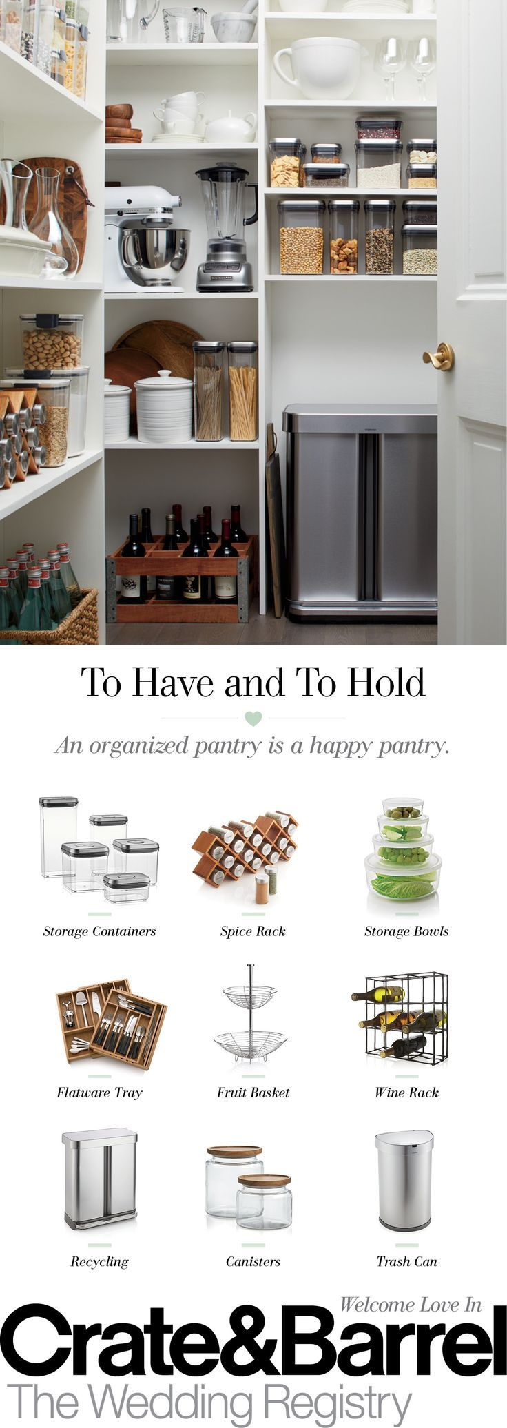 Pantry organization has never been easier with kitchen storage ...