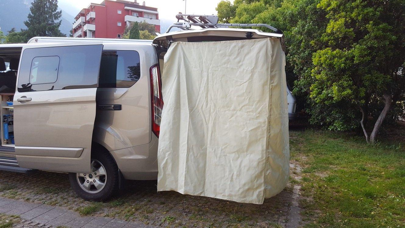 Tourneo Custom Diy Tailgate Awning Diy Awning Custom Campers