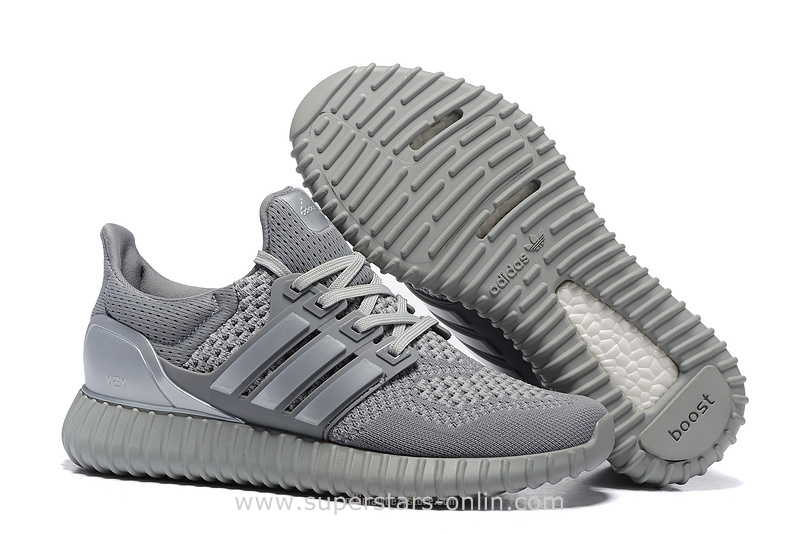 e0bdaec15 2016 Adidas Yeezy Ultra Popcorn Boots Men Running Shoes silver gray (Adidas  Yeezy Boost 350 .
