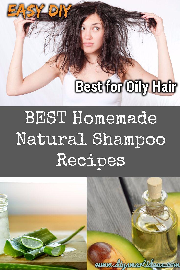 Wonderful Homemade Shampoo Recipes for Healthy Scalp and Oily Hair