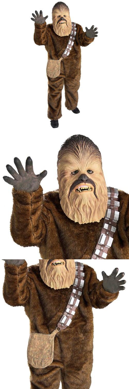 Boys 80913 Chewbacca Costume Kids Star Wars Wookie Halloween Fancy Dress -u003e BUY IT  sc 1 st  Pinterest & Boys 80913: Chewbacca Costume Kids Star Wars Wookie Halloween Fancy ...