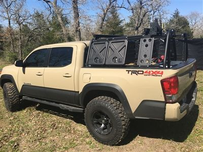 Tacoma Bed Rack Active Cargo System For Short Bed Toyota
