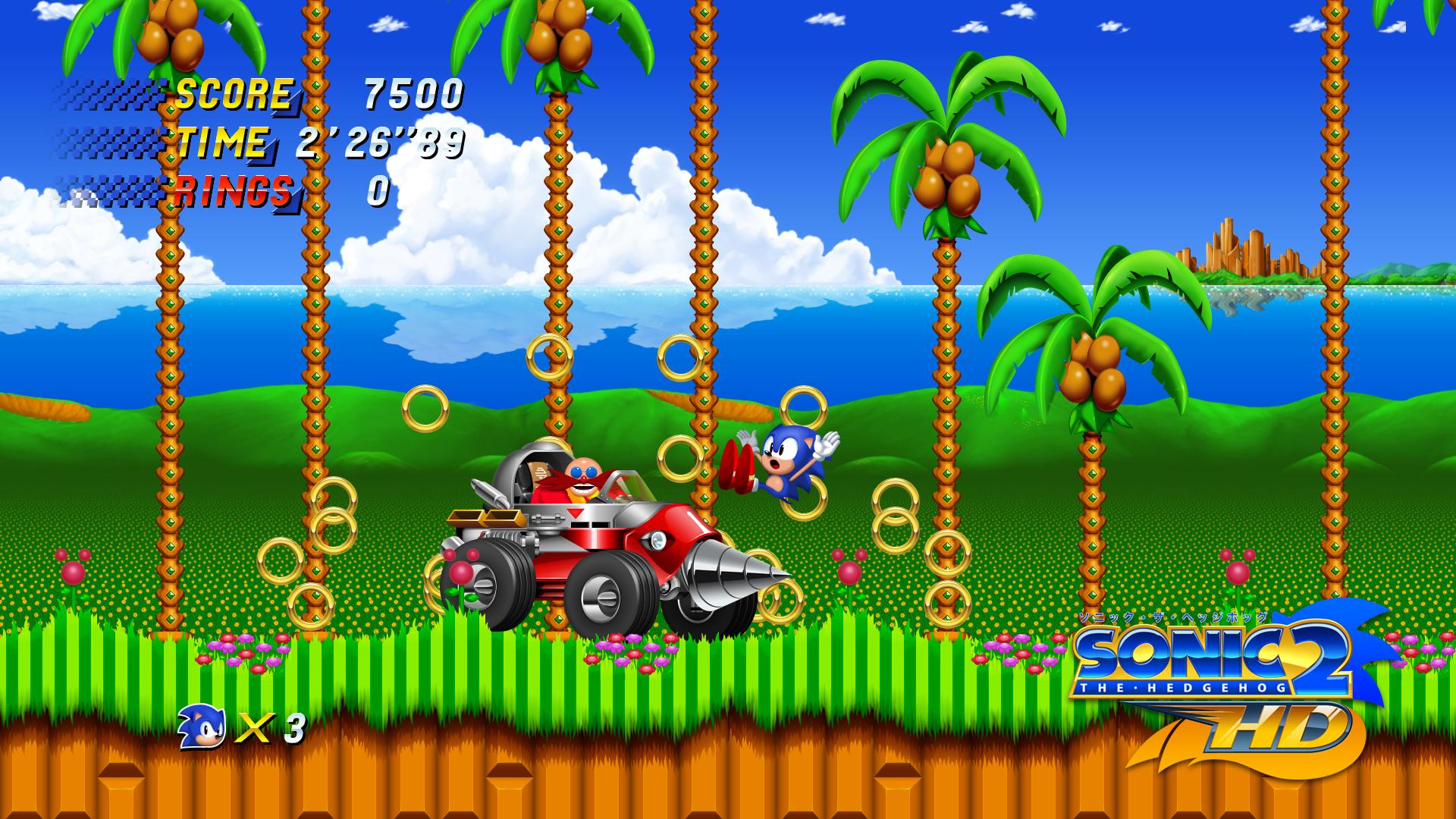 Sonic 2 HD 2d game art, Game art, Sonic