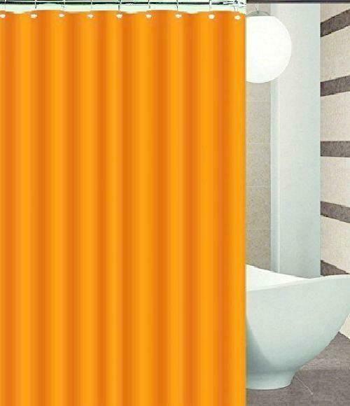 DINY Bath Elements Heavy Duty Magnetized Shower Curtain Liner Mildew Resistant Burgundy