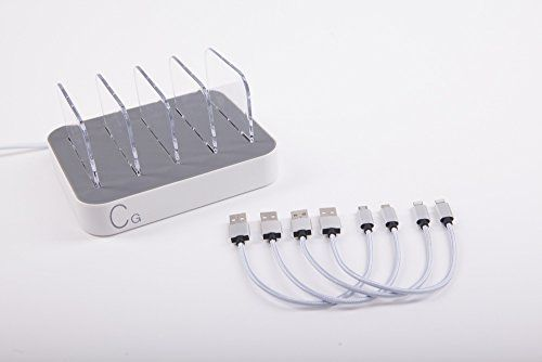 CellGiant USB Charging Station FREE cabel Includ,4 Nylon braided 6.8A High Speed Charge,2 Micro and 2 Lightning ,desktop Organizer for Smartphones and Tablet ,Fits all USB Devices, Elegant White  http://topcellulardeals.com/product/cellgiant-usb-charging-station-free-cabel-includ4-nylon-braided-6-8a-high-speed-charge2-micro-and-2-lightning-desktop-organizer-for-smartphones-and-tablet-fits-all-usb-devices-elegant-white/  INCLUDED – 4 CABLES – Nylon braided High Spe
