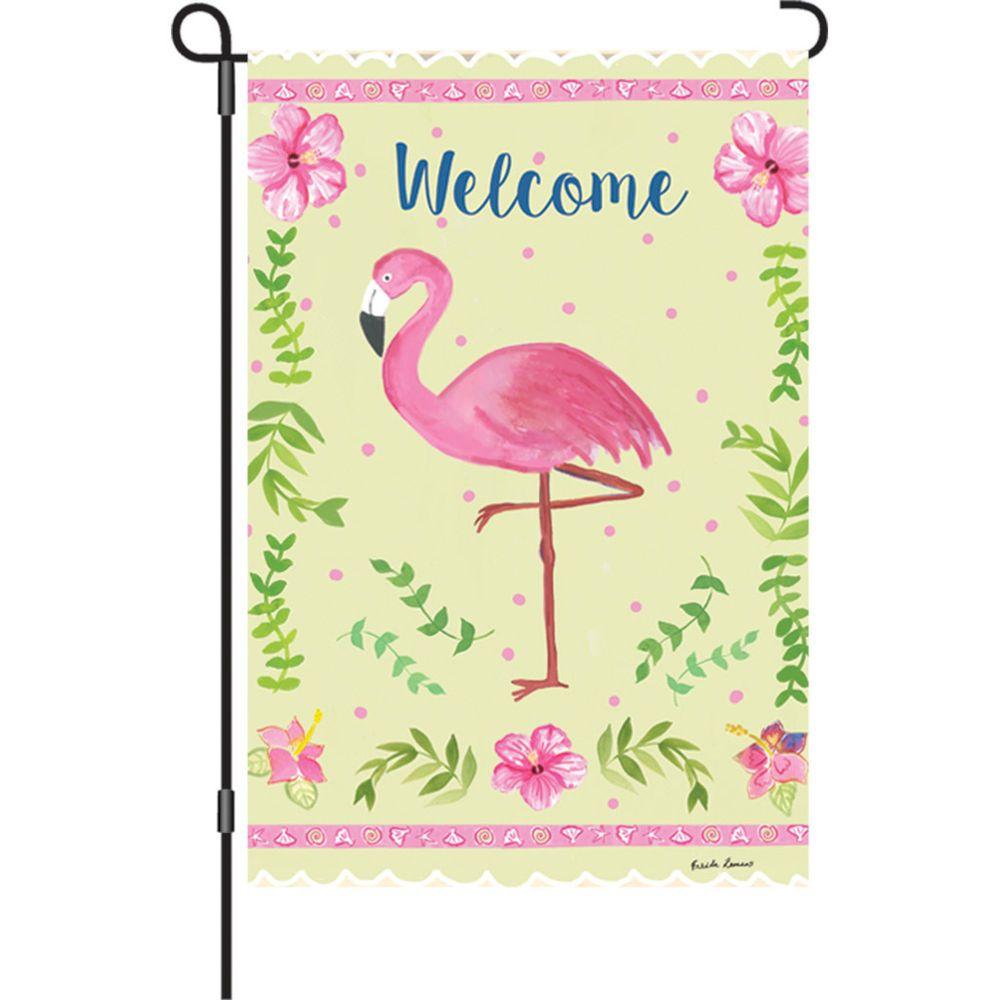 Coastal flamingo
