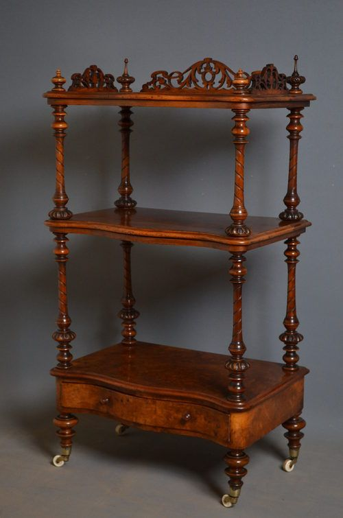 Exceptionnel Victorian Whatnot   Etagère   Antiques Atlas Drawing Rooms, Victorian Art,  Victorian Homes,