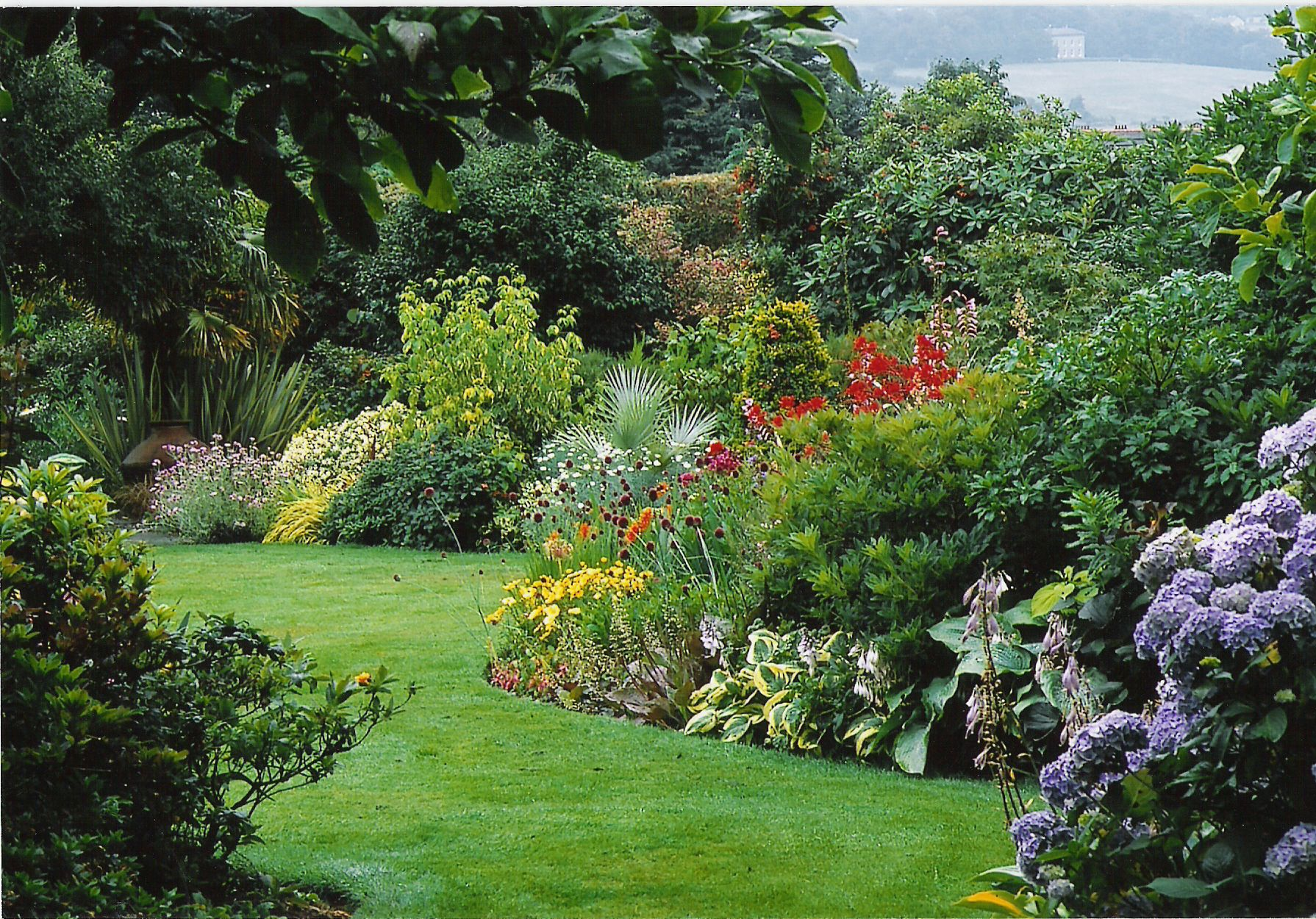 The Ultimate Mixed Border At Lakemount Garden Ireland Trees