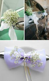 Autoschleifen zur Hochzeit: Tipps und kreative Ideen,  #Autoschleifen #Hochzeit #hochzeitsdek…