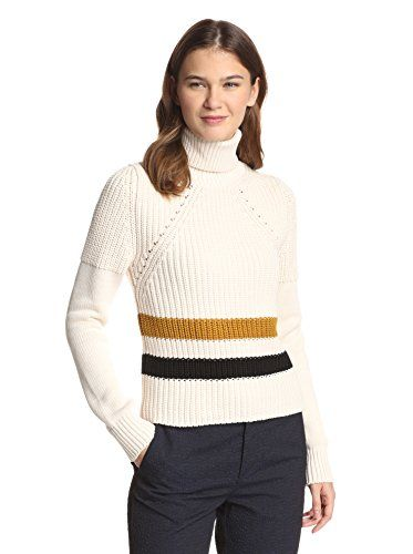See by Chloé Women's Turtleneck with Stripes