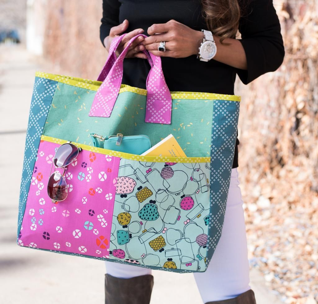 Shop in Style With 4 Fabulous Bag Sewing Kits | Bags - Totes and ...