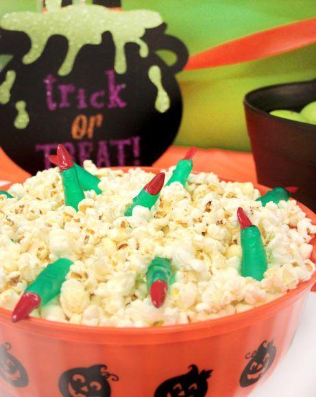 How to Throw the Ultimate Kids\u0027 Halloween Party Halloween popcorn - halloween party food ideas for kids