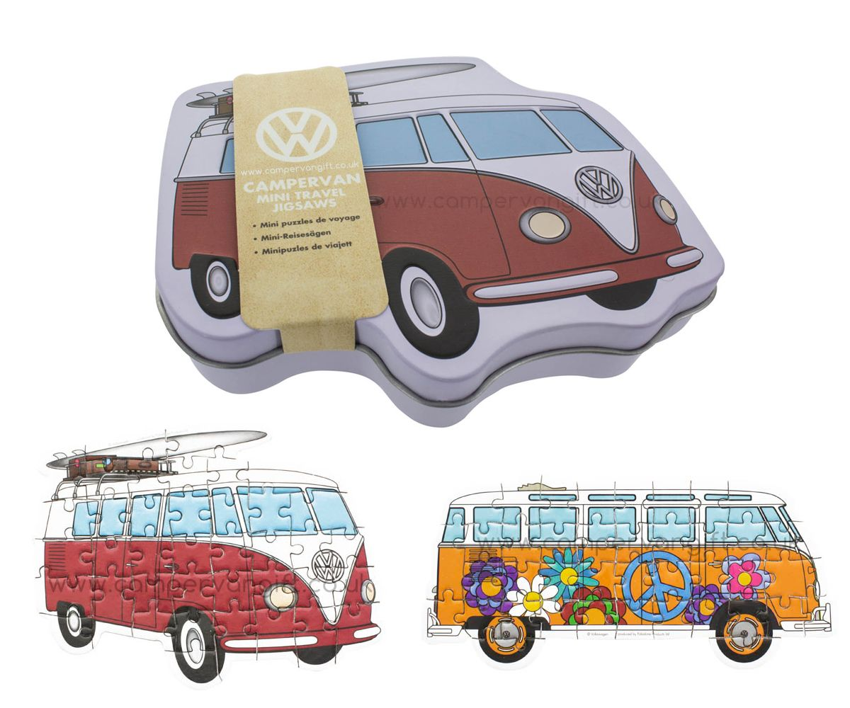volkswagen campervan travel jigsaw puzzles foosebusjes. Black Bedroom Furniture Sets. Home Design Ideas