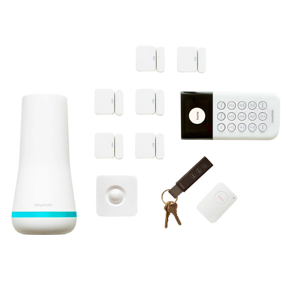 Simplisafe 11 Piece Home Security Kit Simplisafe Home Security Appliance Packages