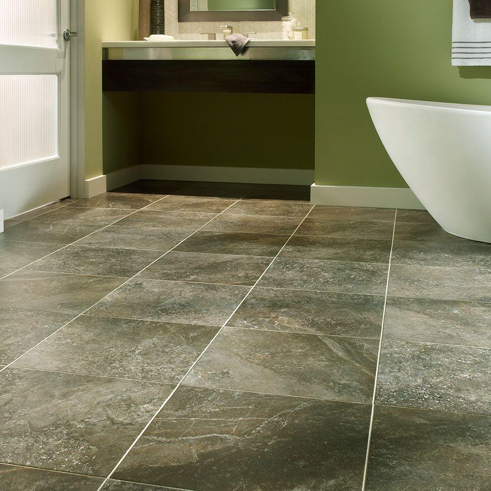 Luxury vinyl tile flooring inspired by the picturesque for Luxury vinyl bathroom flooring