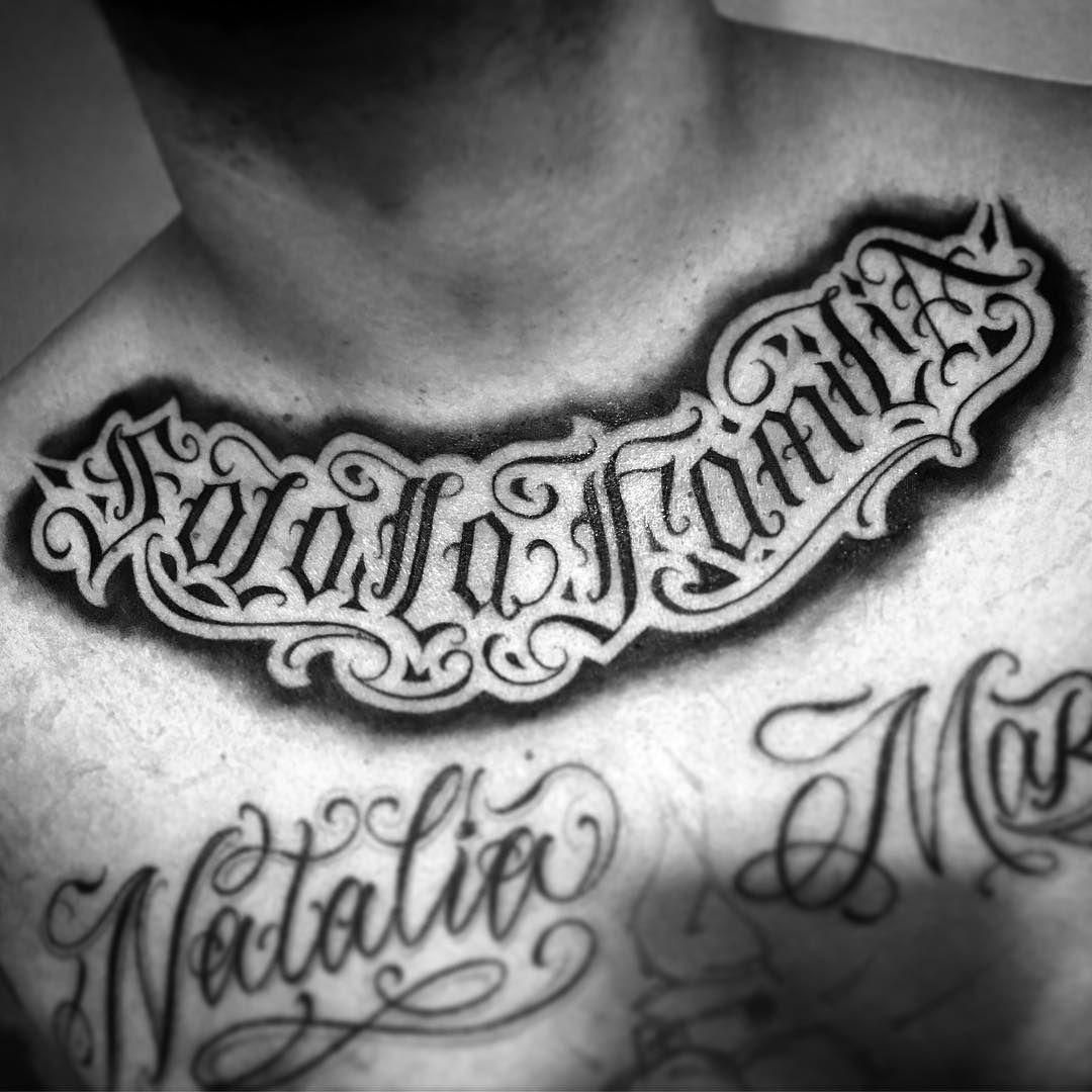 Solo La Familia Tattoo Ideas Tattoos