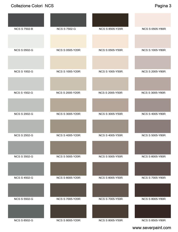 Per averli sempre con te quando crei un progetto, chiedi al rivenditore più vicino la cartella colori vintage paint. Cartella Colori Ncs 1950 Severpaint Colori E Vernici Kleurenkaart Huis Verfkleuren Buitenkant Huis Schilderen